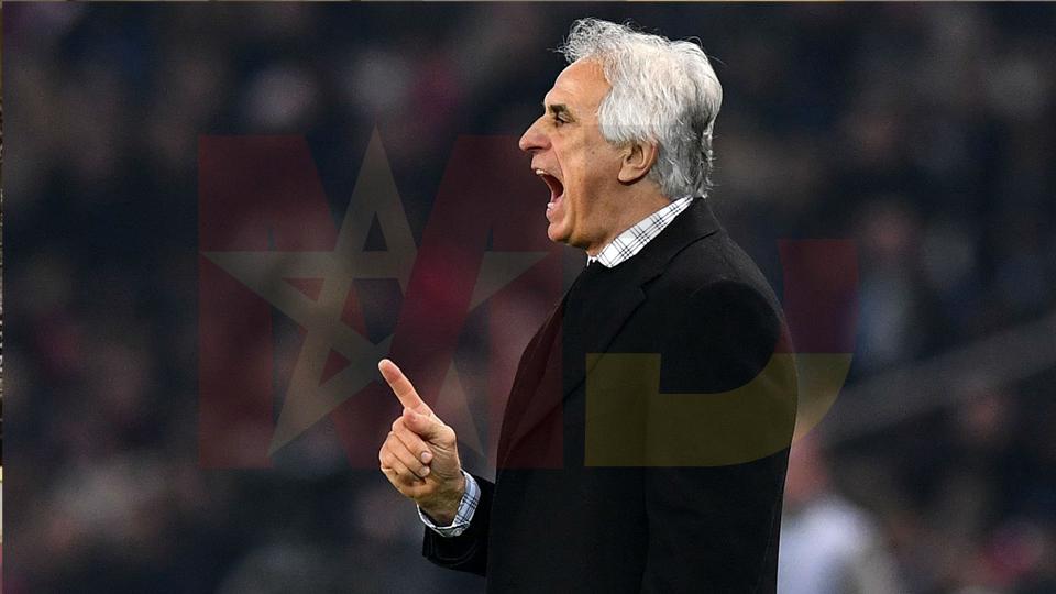 Trainer Vahid Halilhodzic