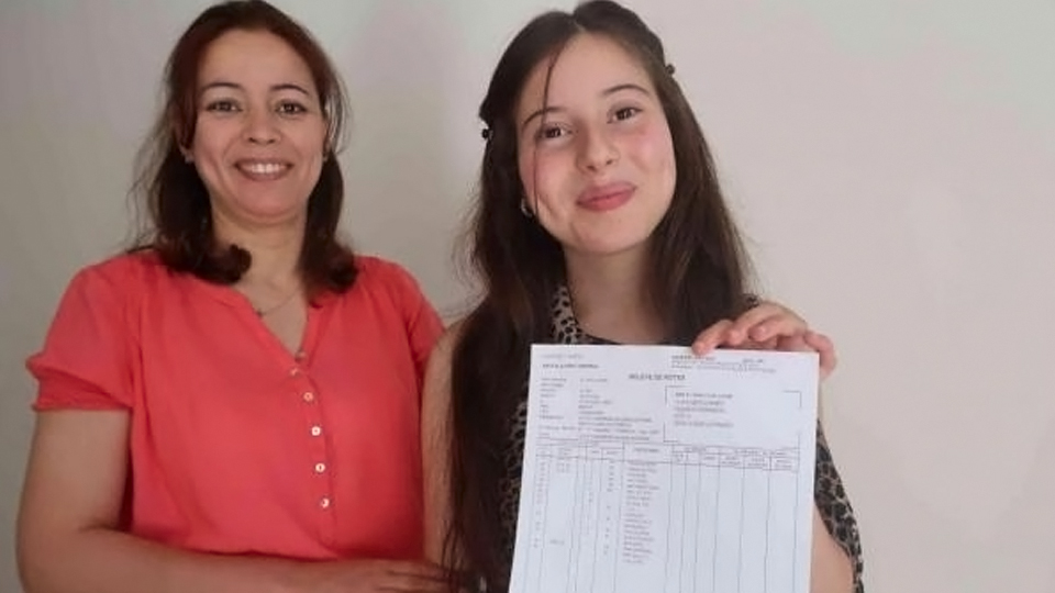 marokkanische Abiturientin