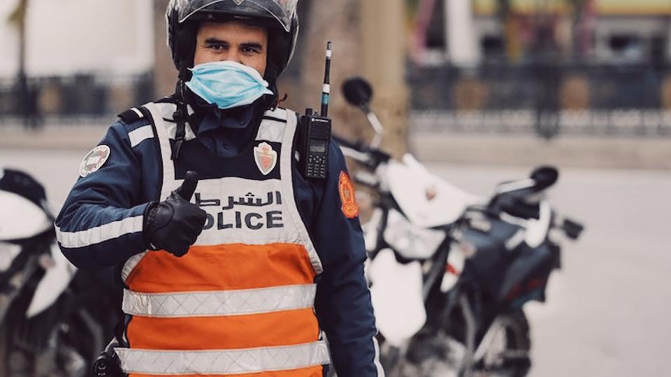 marokko-polizei