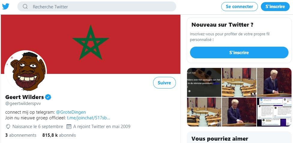 Geert Wilders hacked