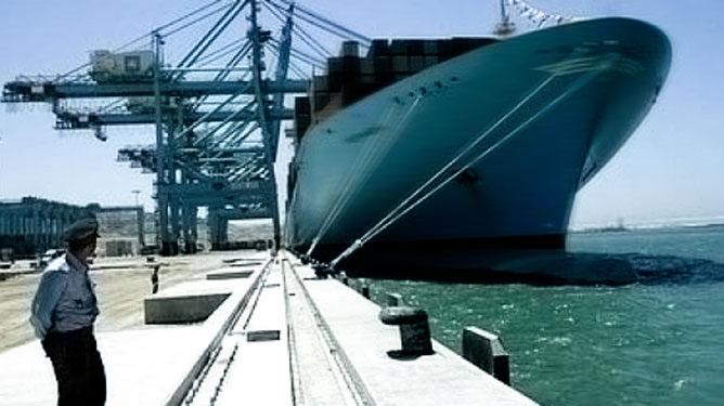 Hafen von Laâyoune