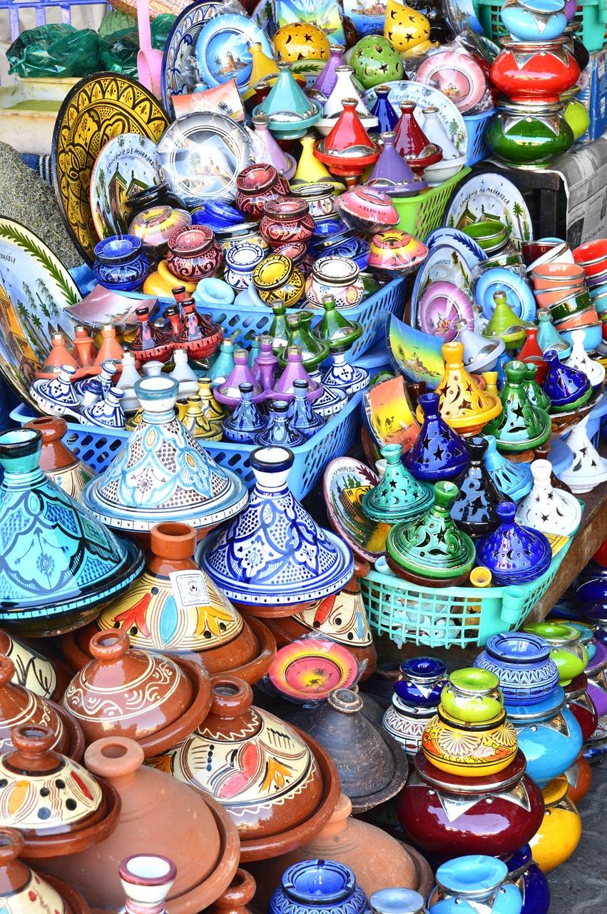 Töpferei (marokkanische Keramik)